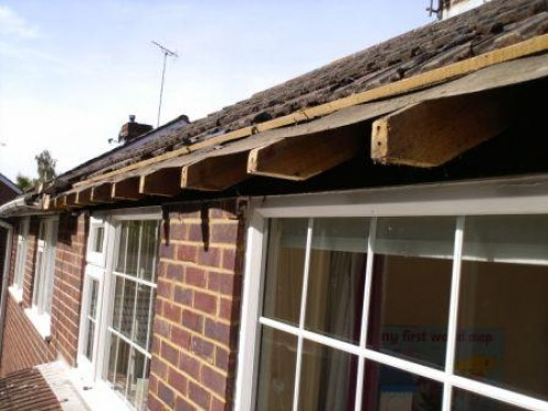 Replacing Roof Fascia And Soffits