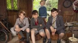 Picture taken from the new series  on BBC One. Yes, William has his own series folks. Here he is with his outlaws.