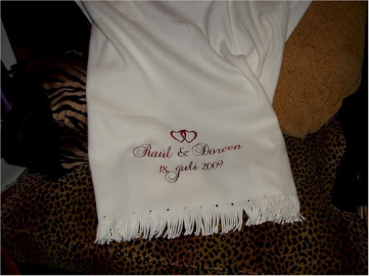 Personalized Throw