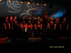 choir competitoon..won third place..