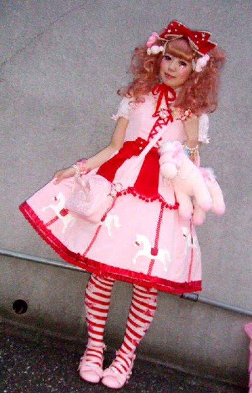 Sweet Lolita Look inspired by Alice?