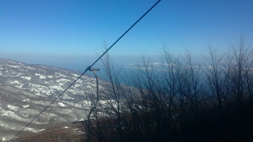Pilio Mountain ski center - Sunny Day