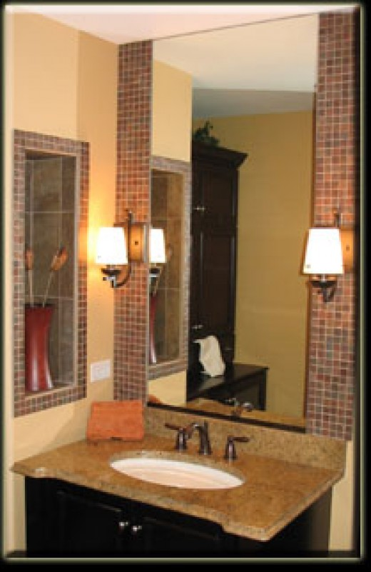 Decorative Mirrors - How to Create a Decorative Mirror with Tile