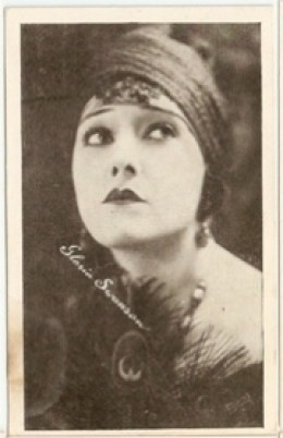 A Young Gloria Swanson
