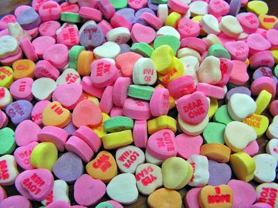 Valentine's Day Candy and Personalities