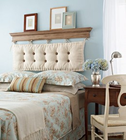 how to build your own headboard