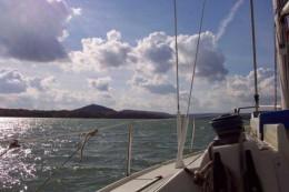 Sailing on the Lac de Madine