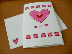 Valentine's Day Craft Tutorial:  Valentine Card