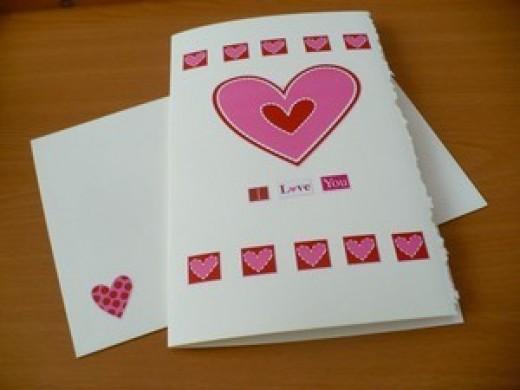 Valentine's Day Craft Tutorial:  Valentine Card