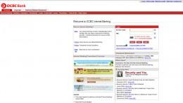 Main Page Website Login