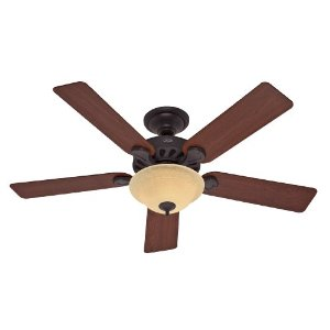 Hunter Fan 23723 52-Inch Five-Minute Ceiling Fan, New Bronze