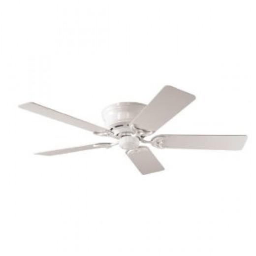 Hunter 20803 Low Profile III 52-Inch 5-Blades Ceiling Fan, White