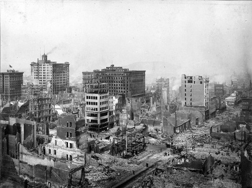 San Francisco Earthquake of 1906.