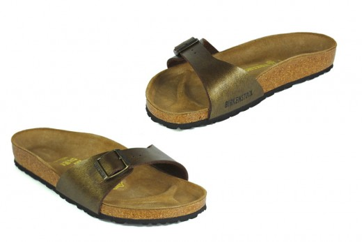 Birkenstock Madrid in Gold