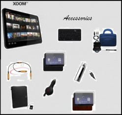 There are many Motorola XOOM Accessories
