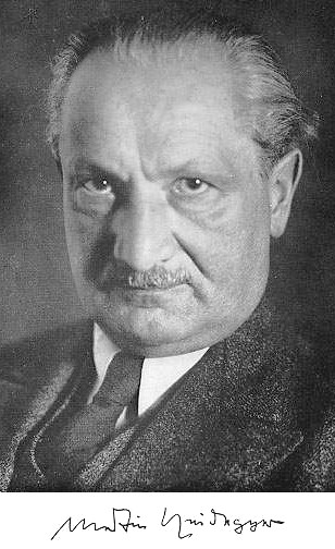 You may notice that Heidegger, pictured above, is not wearing glasses.