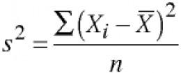 Excel Variance