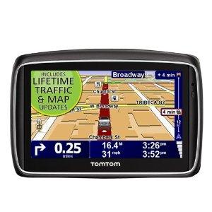 TomTom GO 740TM LIVE 4.3-INCH GPS  Portable GPS Navigator   image credit: amazon