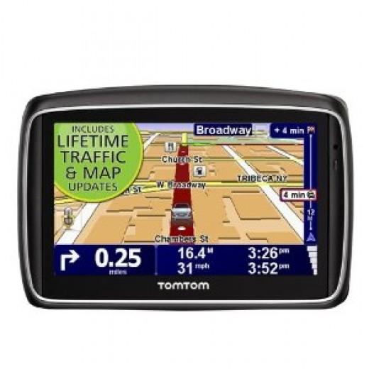 TomTom GO 740TM LIVE 4.3-INCH GPS  Portable GPS Navigator | image credit: amazon