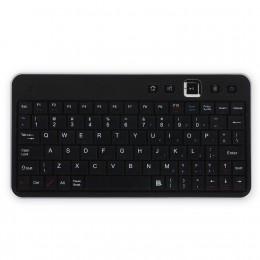 Portable Bluetooth Wireless Universal Keyboard (Silver) for Motorola Xoom