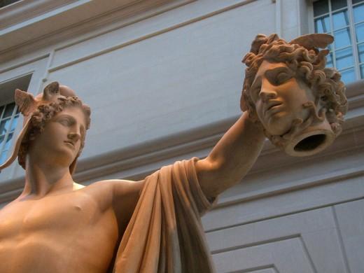 Perseus With Medusa's Head