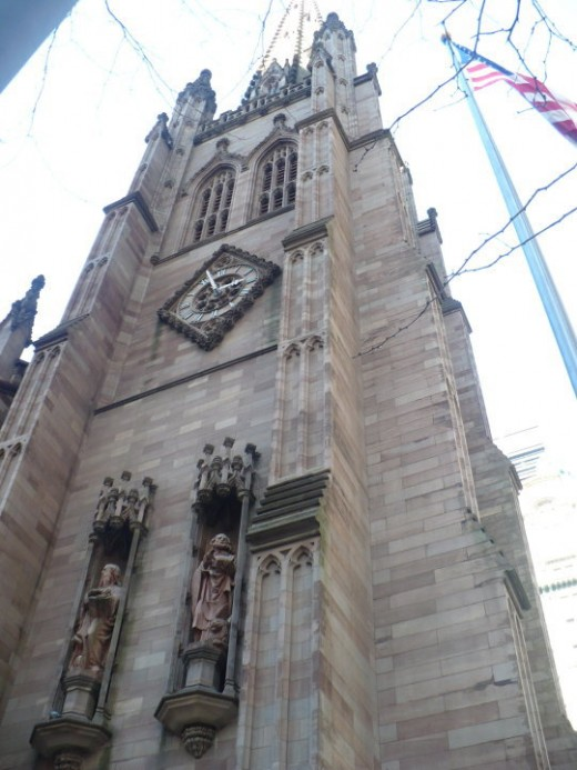 Trinity Cathedral, Lower Manhattan, NYC