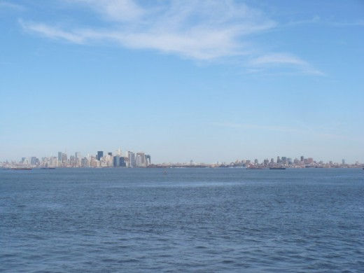 New York City as seen from the Staten Island Ferry, NYC