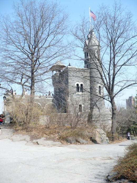 Castle in Central Park, Manhattan, NYC