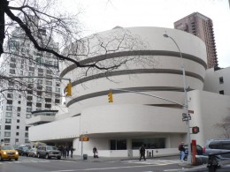 The Guggenheim Museum, Fifth Avenue, Manhattan, New York City