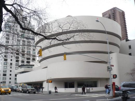 The Guggenheim Museum, Fifth Avenue, Manhattan, New York City