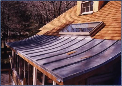 Cedar Copper Roof