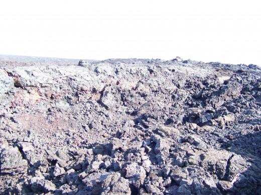 Miles of lava