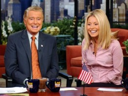Regis isn't always on everyday, but he still makes me laugh.  And Kelly's just cute!