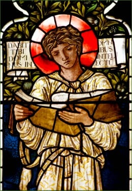 Saint Timothy (stained glass)