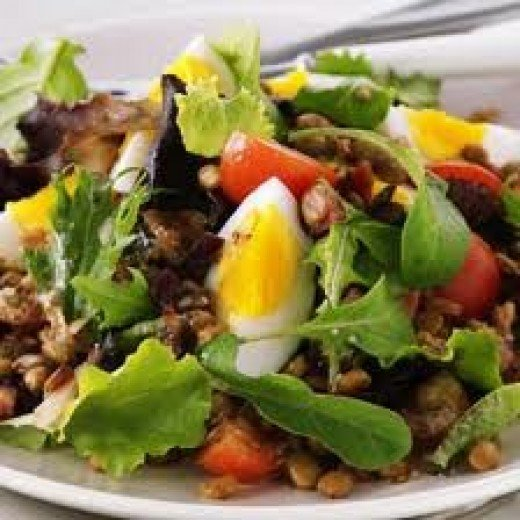 Eggs Are Ideal for Salads