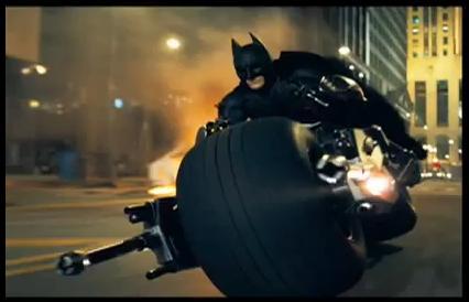 Batpod of The Dark Knight