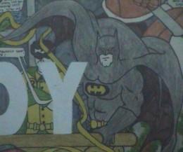 Batman Comic Drawings