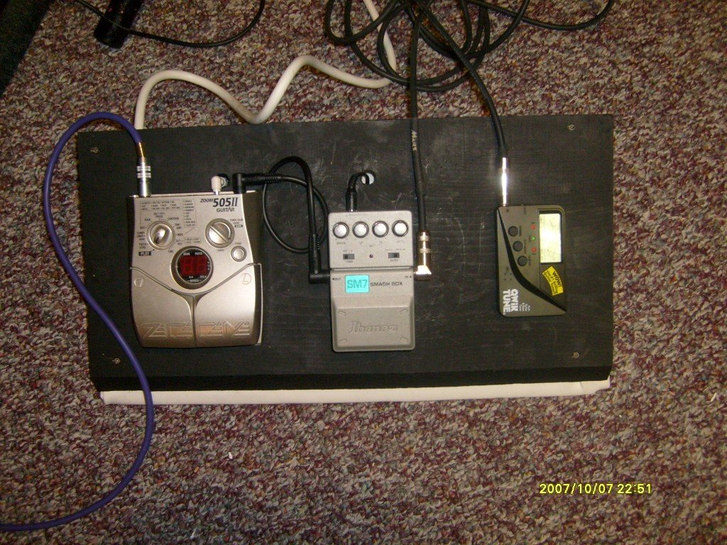 How To Build A Guitar Effects Pedal Board Cheap Hubpages