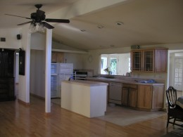 Newly remodeled kitchen in the home I'm leaving..an Eichler style '50's home by Cliff May