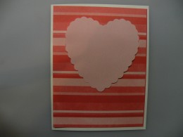 Solid Pink Heart