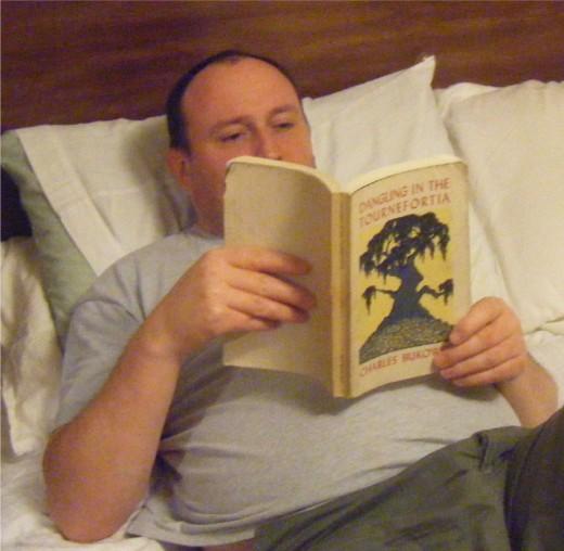 Relaxing with Bukowski