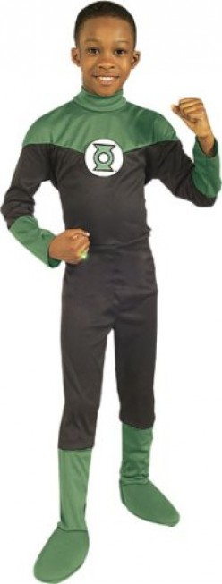Child Sized Green Lantern Costume