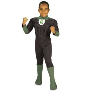 Green Lantern Muscle Costume