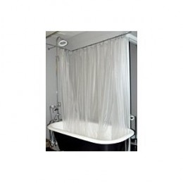 Shower Curtain For Clawfoot Tub Size Website Of Cogablob
