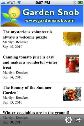 "The ""Garden Snob"" app is an eclectic source of information for gardeners."