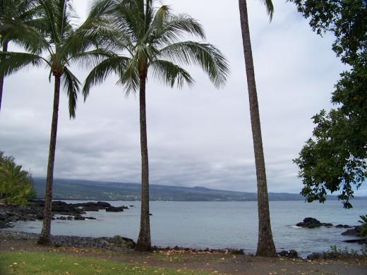 A glorious beachy evening on Hawaii's Big Island