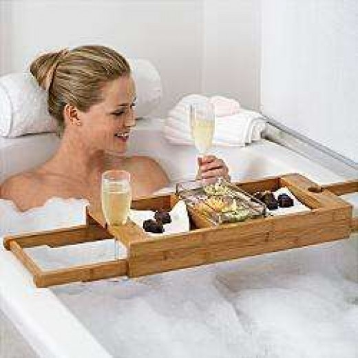 Luxurious Bath Caddy