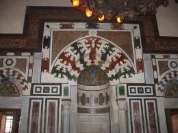 Tileed doorway of mosque