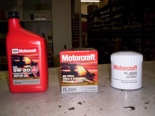 Ford's Oil and Oil Filter