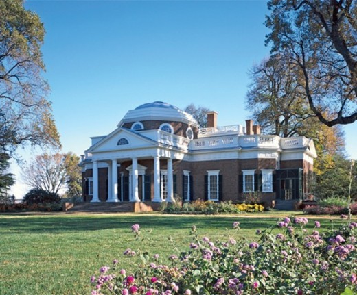 Thomas Jeffersons Charlottesville, Virginia, house was the end result of a process of self teaching in the principles of 18th century architecture.